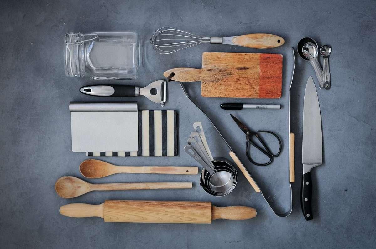 utensílios de cozinha essenciais